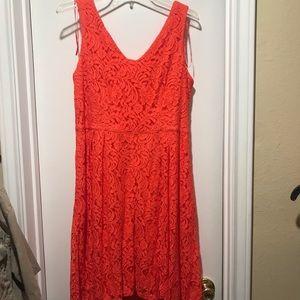Beautiful orange dress